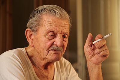 Raucherbeine aus sehen wie Kann man