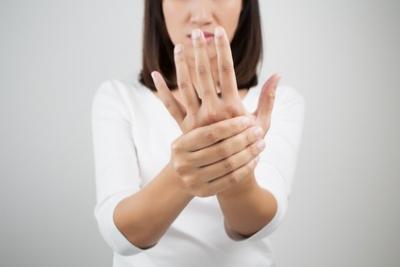 linke fingerkuppe taub